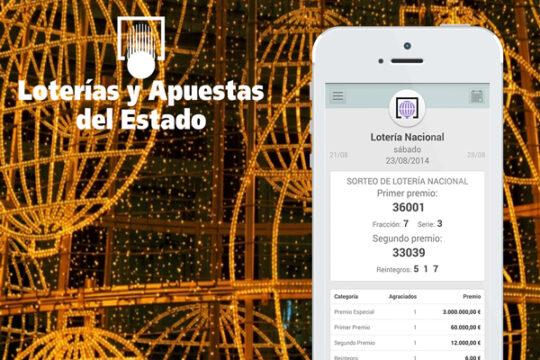 Mis Loterías: Aplicación Oficial de Loterías y Apuestas del Estado