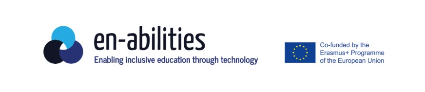 Proyecto Erasmus+ EN-ABILITIES: Enabling Inclusive Education through Technology