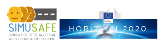 Proyecto H2020 SimuSafe: Simulation of Behavioural Aspects for Safer Transport